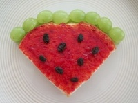 Healthy and semi-healthy desserts, snacks, and food for all kids!  Mainly using fruit, veggies!