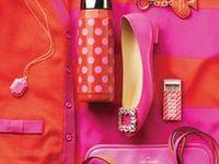 Pink, Orange Color