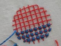 embroidery, needle arts
