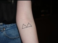 minimalist, geometrical and beautiful tattoos
