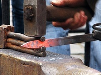 Blacksmiths around the world; tools, supplies, materials, techniques.