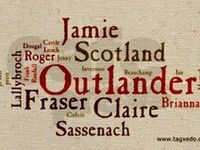 a place to focus my brain on the Outlander series by Diana Gabaldon