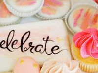 cakes, cookies, cupcakes and sweet treats