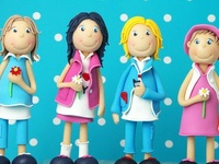 Fondant people & figures tutorials