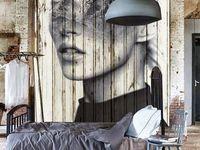 Graphic wall art