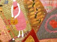 pins and needles and cushions/ wool