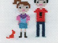 cross stitch: People / Accessories