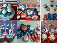 4th of July party decor, recipes, and other ideas