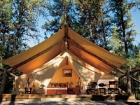 Experience glamping in Montana at The Resort at Paws Up--North America's premier luxury camping destination.
