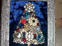 CHRISTMAS BEJEWELED TREES