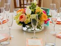"""Beautiful flowers full of life, love and happiness!  These bouquets have the """"wow"""" factor!  All the centerpieces revolve around floral focal points, too!"""