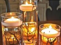 DIY Candles & Holders: