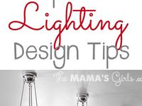 Lighting for the kitchen, bedroom, bathroom, family room