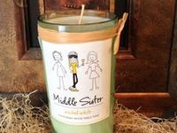 Our fans do some amazing things with their leftover Middle Sister Wine bottles, labels, and more. Do you have a brilliant Middle Sister craft to share? Email your pic to info@middlesisterwines.com and you could see it here!