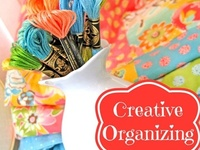 Craft rooms, craft nooks, craft supply storage and so much more!  I heart pretty stuff!