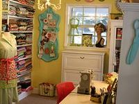 Inspiring Sewing & Craft Rooms