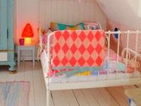 modern, electic, colorful furniture and decor for kids
