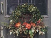 wreaths and door decorations of all kinds