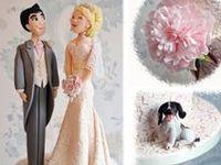 Queques, decoración, moldes y toppers para su boda, aniversario o san Valentín.