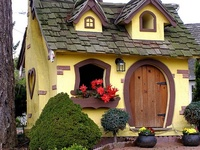 Cozy cottages & unique places of interest from all over the world.