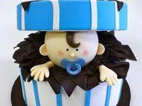 Christening Cakes, Baptism Cakes, Baby Shower Cakes