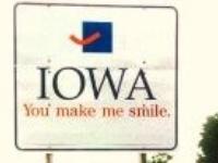Is this heaven?  No, it's Iowa!