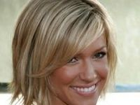 Choppy layered bobs and other hairstyles