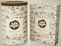 Product packing & box creative