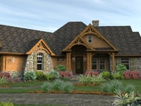 (Architecture) Floor plans:  1 story  1800 - 2500 square foot, 3 bedrooms, 2 baths,  open space (I love Don Gardner's homes)