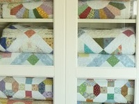 "(Home Decor) I need to store quilts & the ""batting""!"