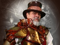 Many of us come to Steampunk from different directions. Some from fashion, some from music, some from literature, but those of us who are obsessed with all things steam as a sub-culture are Steam Punks.