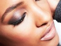 Makeup for Black women; African American faces, women of color.