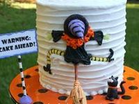 An assortment of cakes - some funny and some scary - but all delicious!