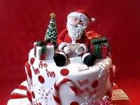Christmas cakes to celebrate the birth of Jesus and the joys of childhood