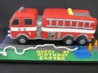 Cakes - Fire Engine Truck
