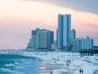 We live in lower Alabama, Baldwin County, very near the white sand beaches of the Gulf of Mexico.