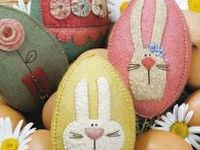 Easter and Bunnies : All Craft Styles.