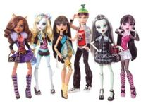 M-O-N-S-T-E-R HIGH/ever after high