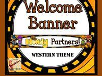 Ideas for teaching westward movement, western classroom theme