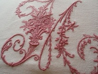 Embroidery, Linen and Lace