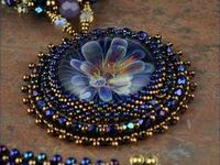Hand made jewelery from seed beads, wire, cording, etc