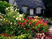 ღ Everyone can identify with a fragrant garden, with the beauty of sunset, with the quiet of nature and with a warm and cozy cottage. ~Thomas Kincade ღ