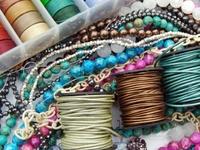 Creative with stuff to make jewelry