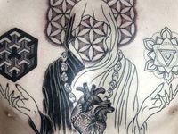sacred geometry, mendhi & decorative tattoos