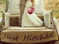 Rustic, outdoorsy, classic, and COUNTRY!  What better for a dream wedding?