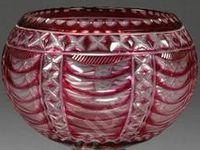 Antiques: Glass - Cut Crystal