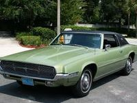 Pictures of Ford Thunderbirds.
