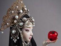 """Enchanted"" Art Dolls"