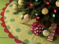 CHRISTMAS tree skirts