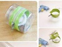 Plásticos, PVC, Borracha artesanatos bem bolados com embalagens plásticas.